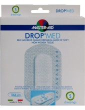 MASTER AID Drop Med 10x6cm 5 dressings