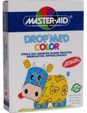 MASTER AID Drop Med Color 7x5cm 5 dressings