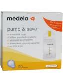 MEDELA Pump & Safe 20 pieces