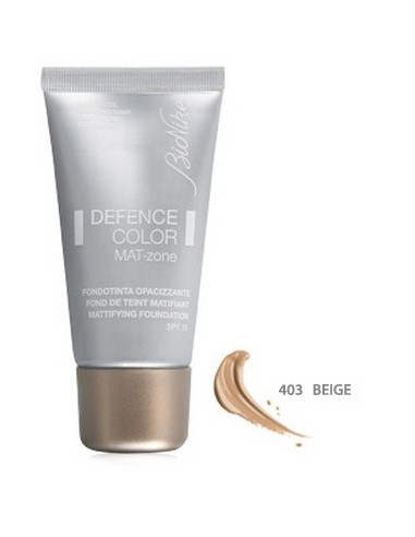 BIONIKE Defence Color Mat-Zone SPF15 N.403 Beige 30ml