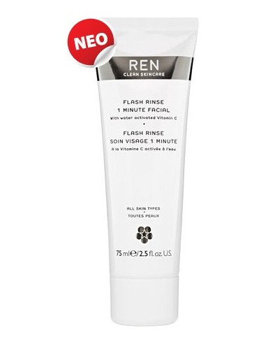REN Beauty Booster Flash Rinse 75ml