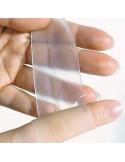 DERMATIX Silicone Sheet Clear 13 x 13 x 1 cm