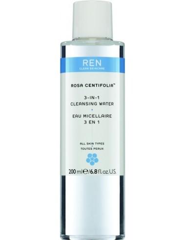 REN Rosa Centifolia 3-in-1 Cleansing Water 200ml