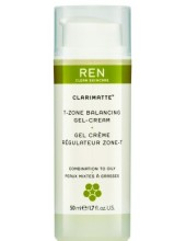 REN Clarimatte T-Zone Balancing Gel Cream 50ml