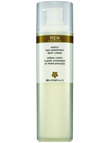 REN NEROLI & GRAPEFRUIT BODY CREAM 200ML