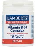 LAMBERTS Vitamin B-50 Cmplex 60 Tabs