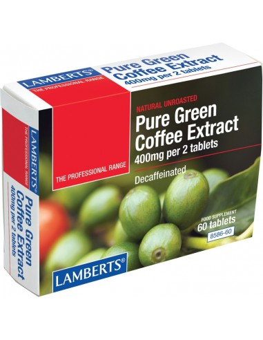 LAMBERTS Pure Green Coffee Extract 60 Tabs