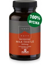 TERRANOVA Milk Thistle 500mg 50 Caps