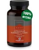 TERRANOVA Astragalus, Elderberry & Garlic Resistance Support Complex 50 veg. Caps