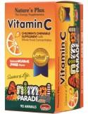 NATURE'S PLUS Animal Parade Vitamin C 90 animals