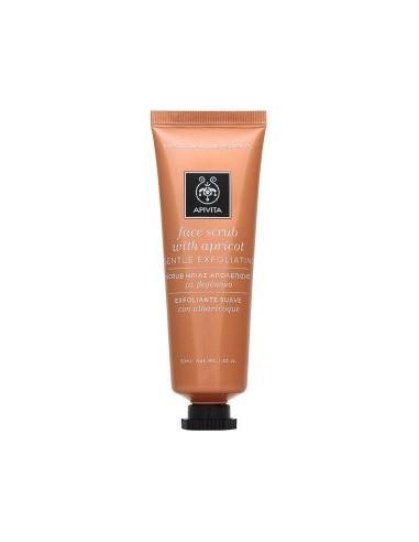 APIVITA Face Scrub With Apricot 50 ml