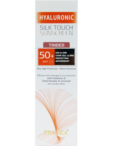 FROIKA Hyaluronic Silk Touch Sunscreen Tinted SPF 50+ 40ml