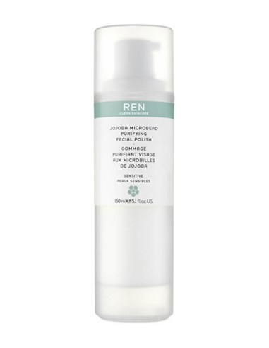 REN Jojoba Microbead Purifying Facial Polish 150ml