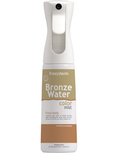FREZYDERM Bronze Water Color Mist Face-Body 300ml
