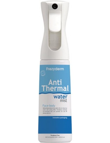 FREZYDERM Anti Thermal Water Mist Face-Body 300ml