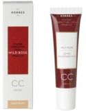 KORRES WILD ROSE CC CREAM SPF 30 LIGHT SHADE 30 ml