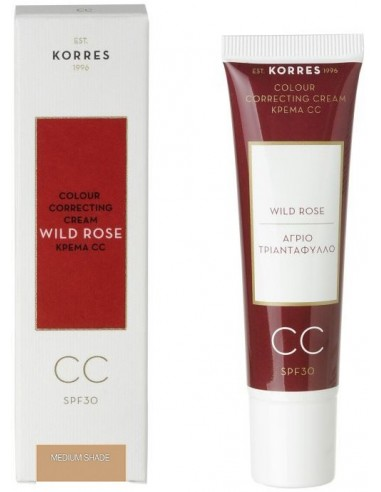 KORRES WILD ROSE CC CREAM SPF 30 MEDIUM SHADE 30 ml