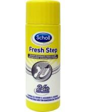 SCHOLL Fresh Step Polvere Deodorante Piedi e Scarpe 75gr