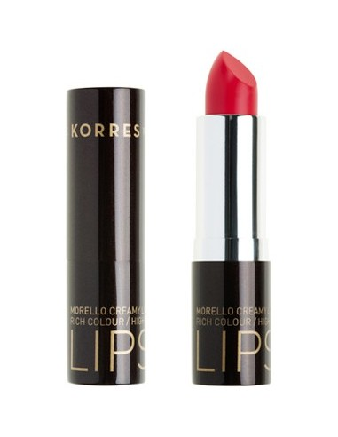 KORRES Morello Creamy Lipstick 44 Luminous Coral 3.5ml