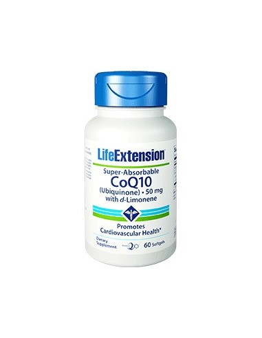 LIFE EXTENSION Super-Absorbable CoQ10 60softgels