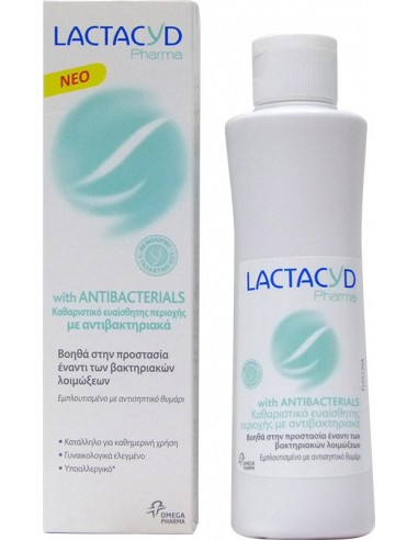 LACTACYD Pharma with Antibacterials Intimate Wash 250ml