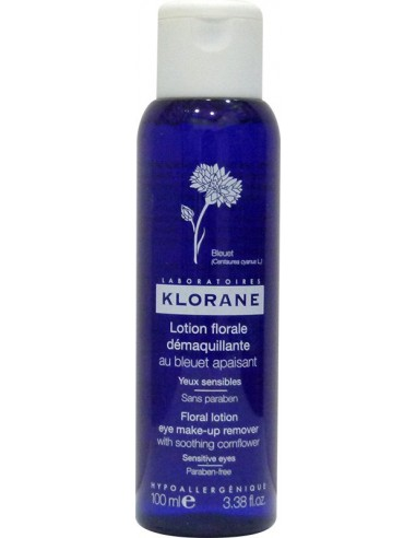 KLORANE Floral lotion eye make-up remover with Cornflower 100ml