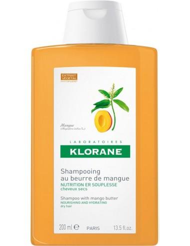 KLORANE Shampoo with Mango butter (Βούτυρο Μάνγκο) 200ml -20%