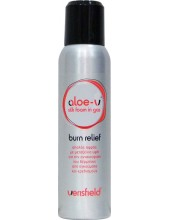 Aloe-V Silk Foam in Gas Burn Relief 150ml