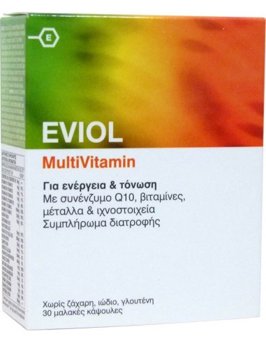 EVIOL MultiVitamin 30 SofCaps