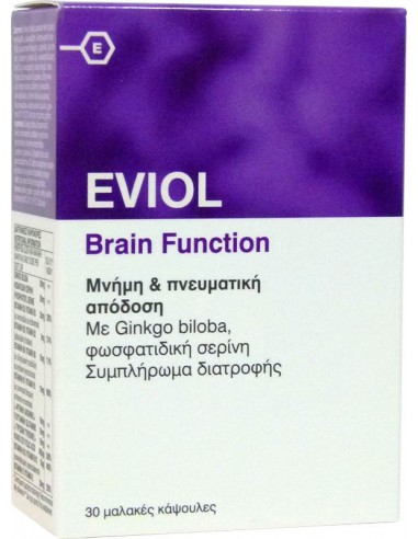 EVIOL Brain Fuction 30 SoftCaps