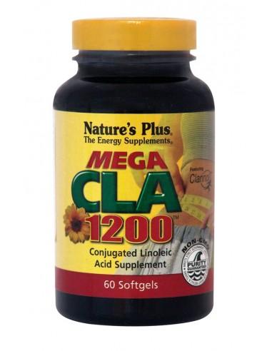 NATURE'S PLUS MEGA CLA 1200MG Softgels 60
