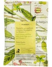 KORRES Herb Balsam Pastilles with Greek Sage extract & Vitamin C 16 Pastilles