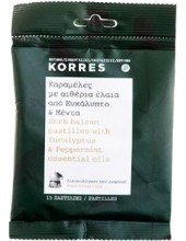 KORRES Herb Balsam Pastilles with Eucalyptus & Peppermint 15 Pastilles