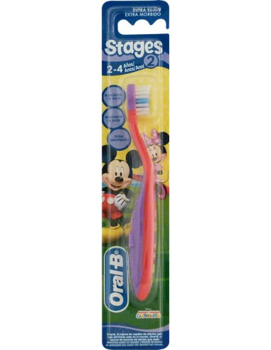 ORAL-B Stages 2 Brush 2-4 Years