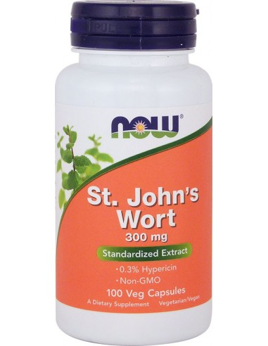 NOW St-John's Wort 300mg 100Caps