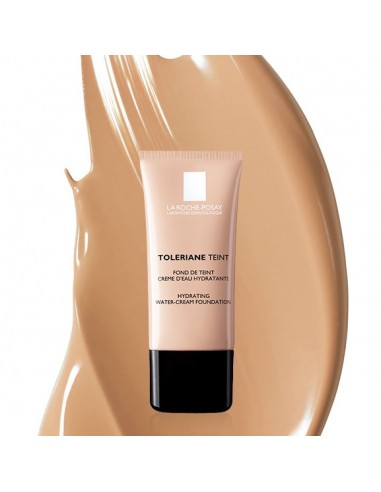 LA ROCHE-POSAY Toleriane Teint Hydrating Water-Creme Foundation 02 Sable/Sand SPF 20 30ml