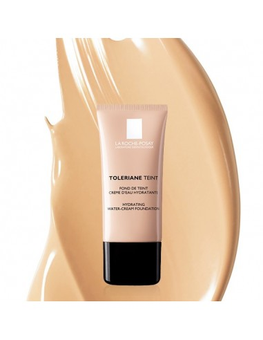 LA ROCHE-POSAY Toleriane Teint Hydrating Water-Creme Foundation 01 Sable/Sand SPF 20 30ml