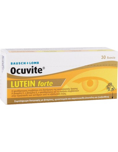 BAUSCH+LOMB Ocuvite Lutein forte 30tabs