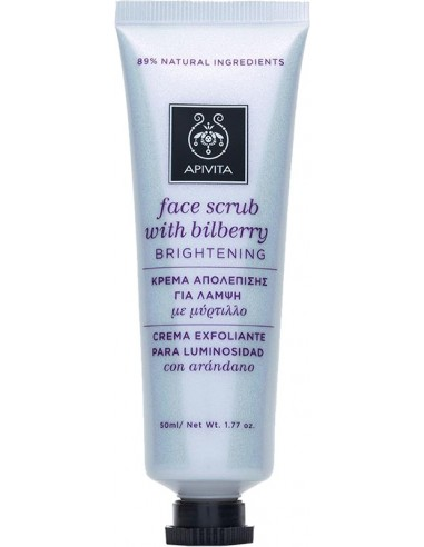 APIVITA Face Scrub With Bilberry 50 ml