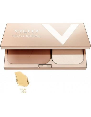 vichy Teint Ideal Fond de teint Lumiere Poudre Compact 01 light-claire 9,5g