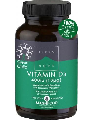 ΤΕRRANOVA Green Child Vitamin D3 400 iu