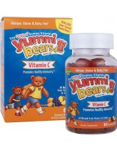 HERO YUMMI BEARS VITAMIN C 60 gummy bears