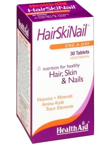 HEALTH AID Hair, Skin & Nails 30 tabs