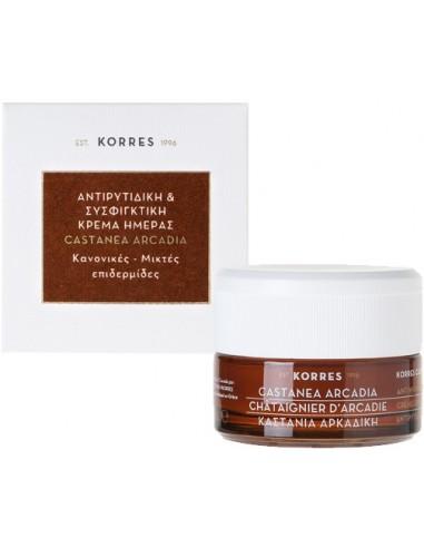KORRES Castanea Ardadia Day Cream Normal-Combination skin 40ml