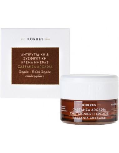 KORRES Castanea Ardadia Day Cream Dry-Very Dry skin 40ml