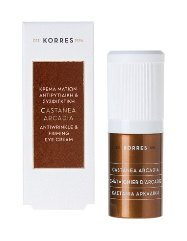 KORRES Castanea Ardadia Antiwrinkle & Firming Eye Cream 15ml