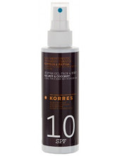 KORRES Suntan Oil Face & Body Walnut & Coconut SPF10 150ml