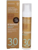 KORRES Sunscreen Face Cream Red Grape Antiageing Antispot Action SPF30 50ml