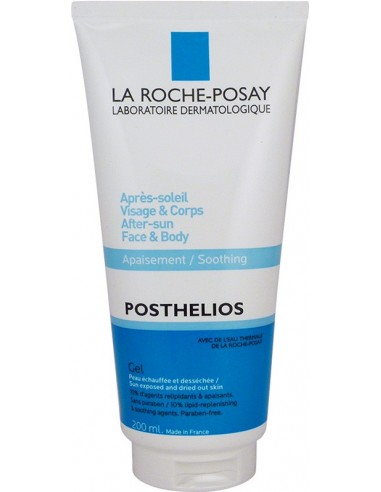 LA ROCHE-POSAY Posthelios After Sun Face & Body Gel 200ml