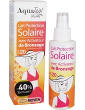 AQUATEAL SOLAIRE Lait Protection spf20 100ml